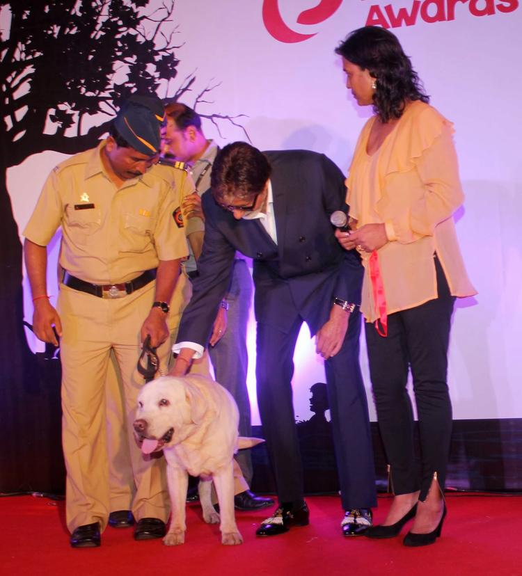 Amitabh Bachchan At Pawsitive People's Awards in Mumbai