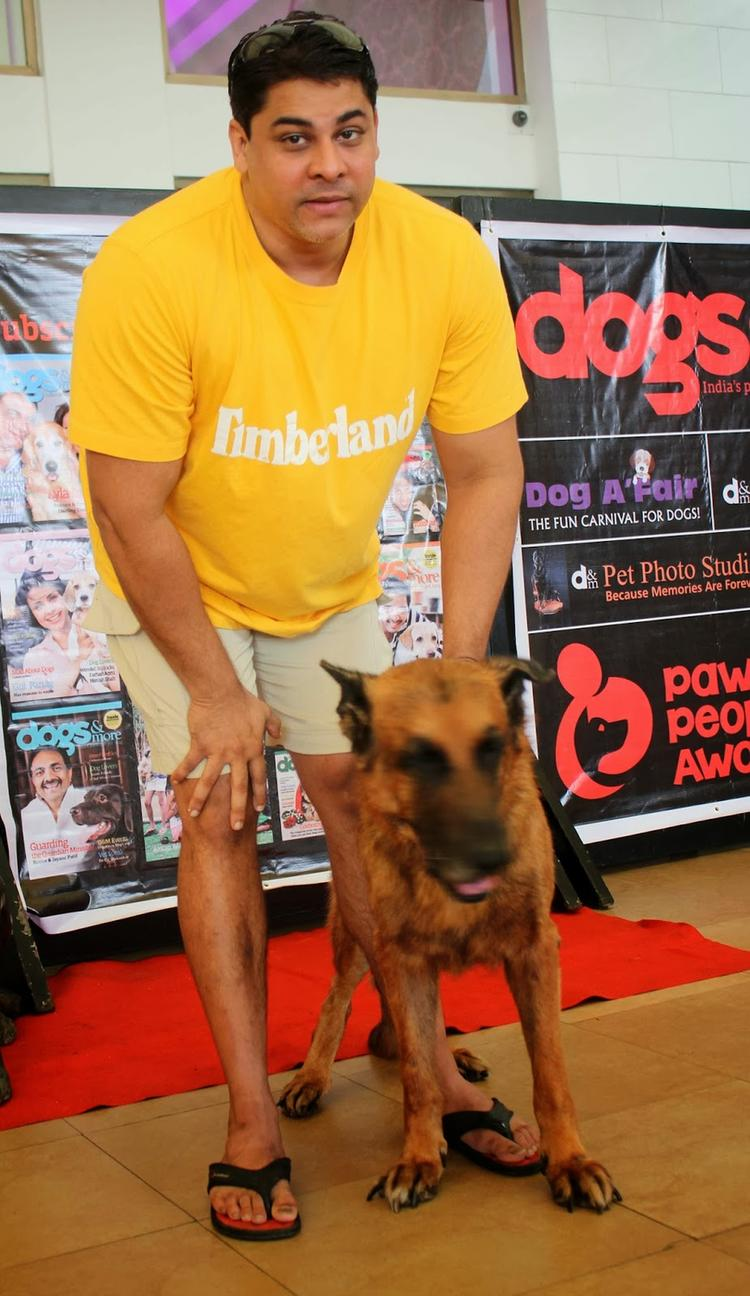 Cyrus Broacha At Pawsitive People's Awards in Mumbai