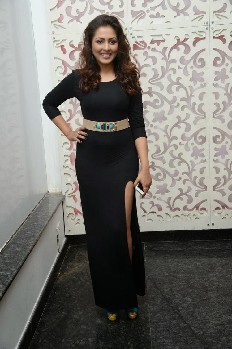 Madhu Wore A Highcut Gown At Satya 2 Movie Audio Release Function