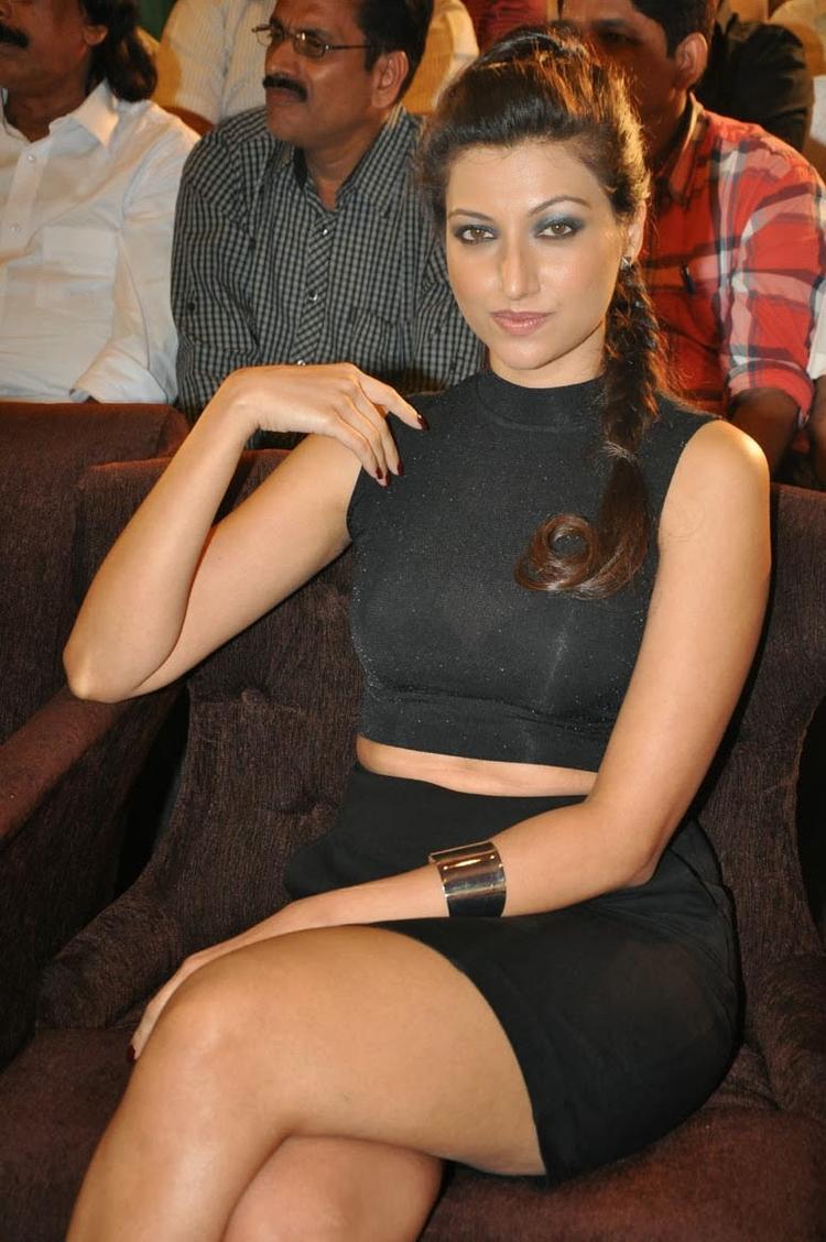 Hamsa Nandini Glamoured Look At Ramaiya Vastavaiya Audio Release Function