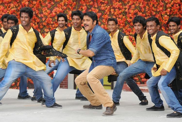 Nagarjuna Akkineni In Bhai Movie Danced Still