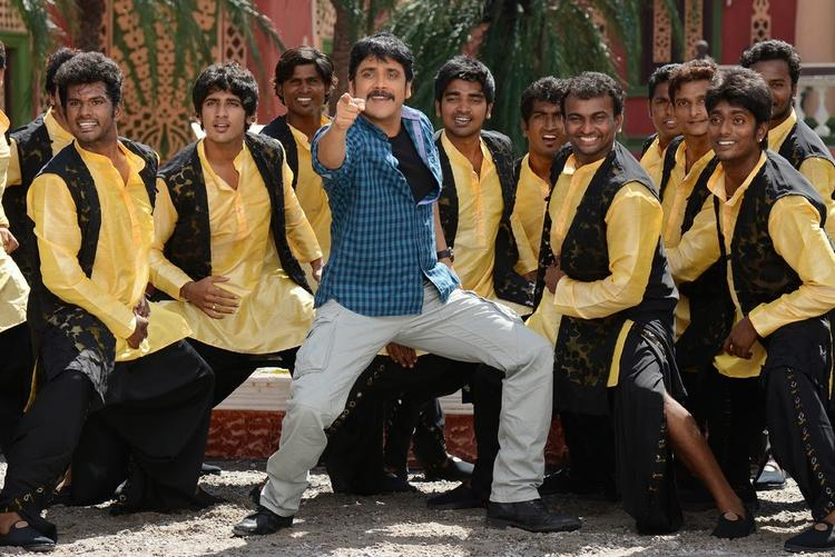 Nagarjuna Akkineni Cool Danced Still From Bhai Movie