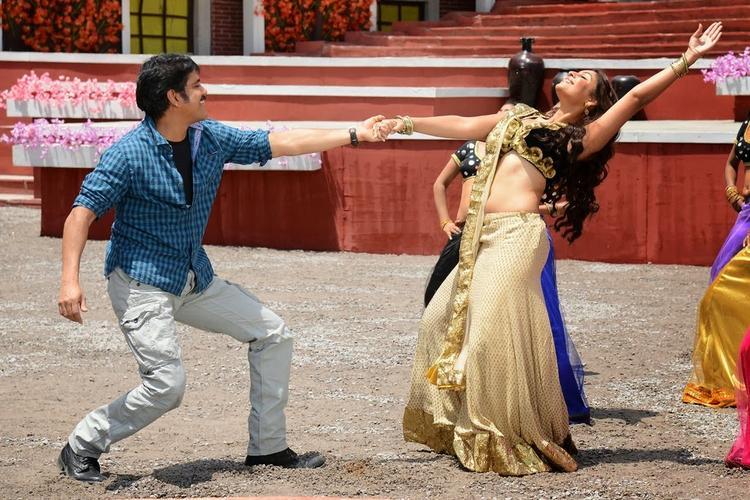 Nagarjuna And Richa Performed Danced Still From Bhai Movie