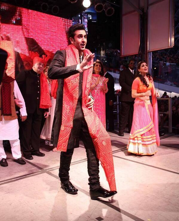 Ranbir And Pallavi Danced At Times Square In New York