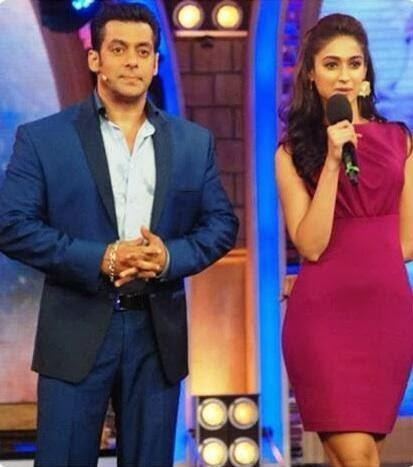 Ileana Addresses The Public About Her Film On The Sets Of Bigg Boss 7 Session During The Promotion Of PPNH