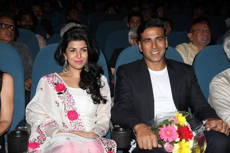 Nimrat And Akshay Enjoy The Programme At 4th Jagran Film Festival Launching Event