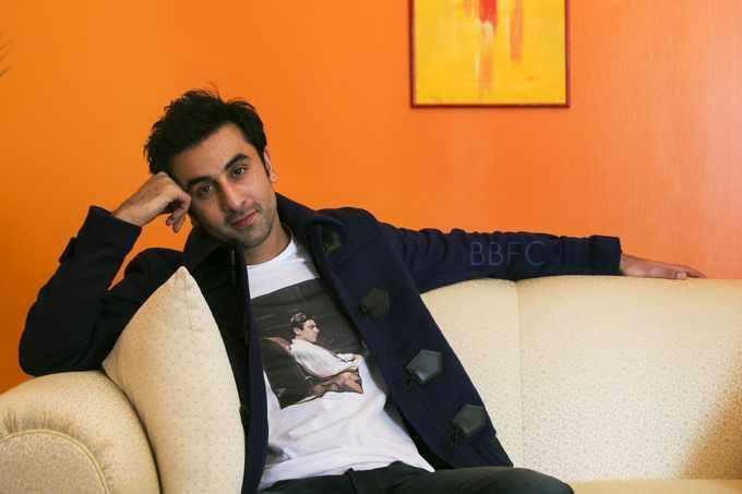 Ranbir Kapoor Nice Look Photo Shoot For Promoting Besharam At NYC