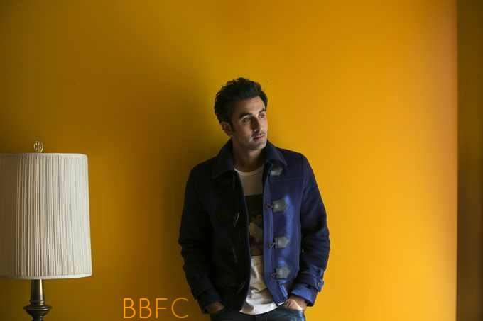 Ranbir Kapoor Stylish Pose Shoot For Promoting Besharam At NYC