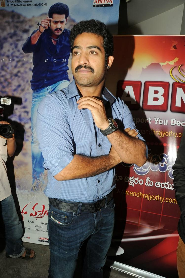 Jr. NTR Clicked During The Audio Release Function Of Ramayya Vastavayya Movie