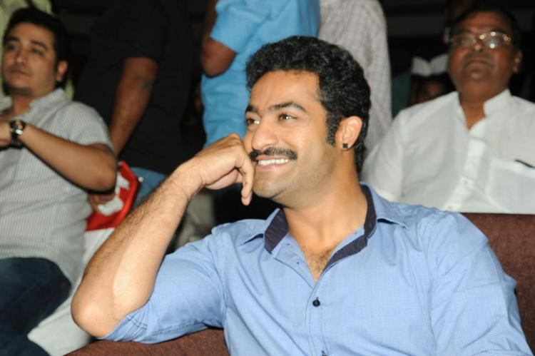 Jr. NTR Flashes A Smile At Ramayya Vastavayya Audio Release Function