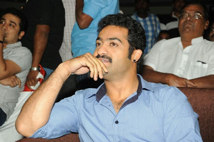 Jr. NTR Stunning Face Look At Ramayya Vastavayya Audio Release Function