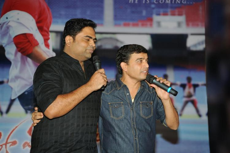 Dil Raju Addresses The Public On The Stage At Ramayya Vastavayya Audio Release Function