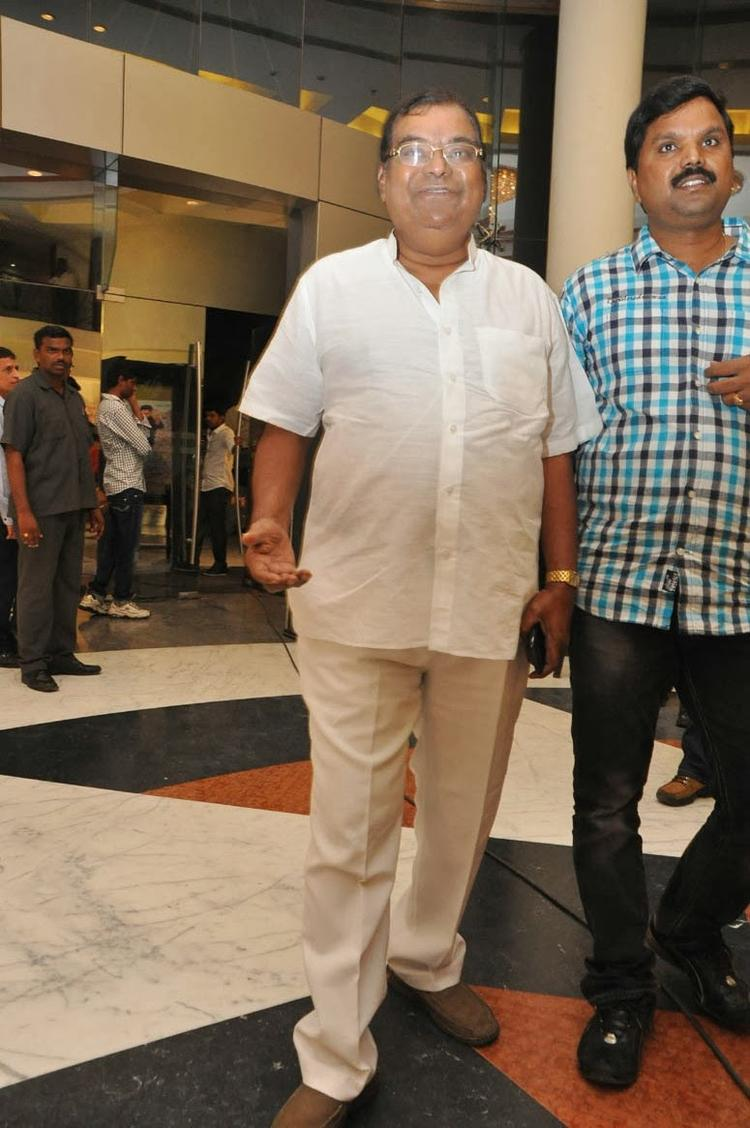 A Guest Posed For Camera At Ramayya Vastavayya Audio Release Function