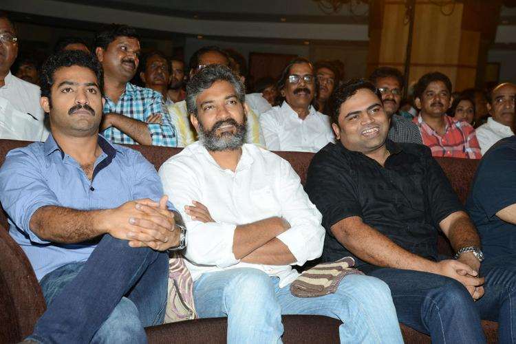 Jr. NTR And S. S. Rajamouli Attend The Ramayya Vastavayya Audio Release Function