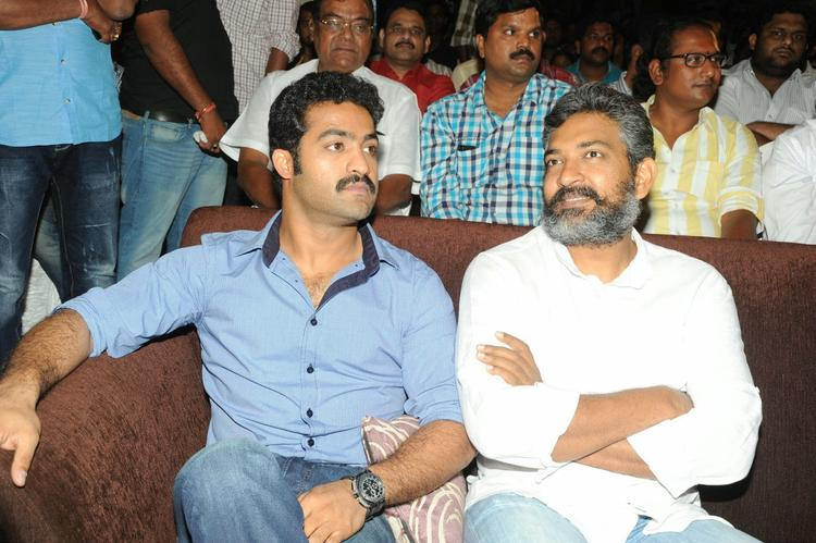 Jr. NTR And S. S. Rajamouli Present At Ramayya Vastavayya Audio Release Function