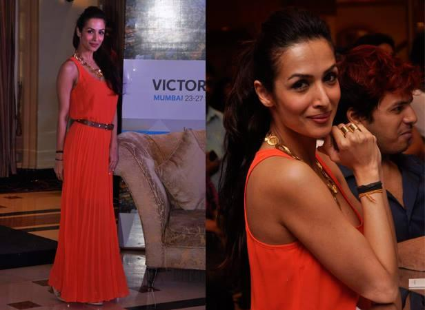 Malaika Arora Khan Strikes A Pose At Indian Film Festival Of Melbourne Announcement Event