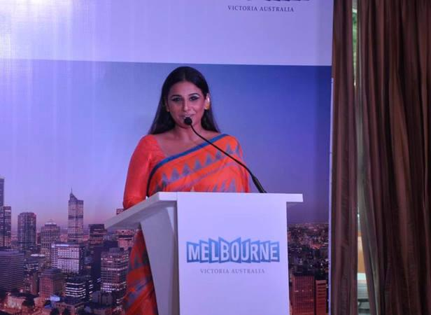 Vidya Balan Speeches At Indian Film Festival Of Melbourne Announcement Event
