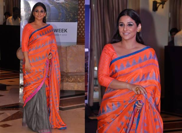 Vidya Balan Trendy Look During The Announcement Event Of Indian Film Festival Of Melbourne