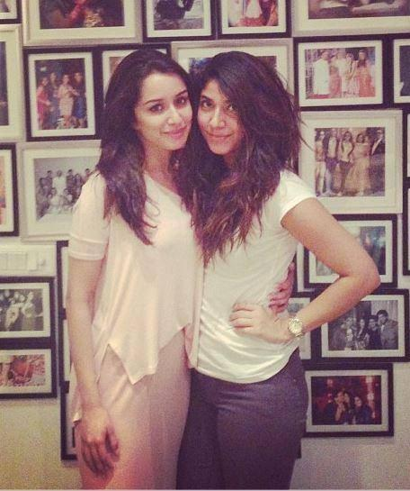 Shraddha Kapoor Posed With A Friend Nice Still