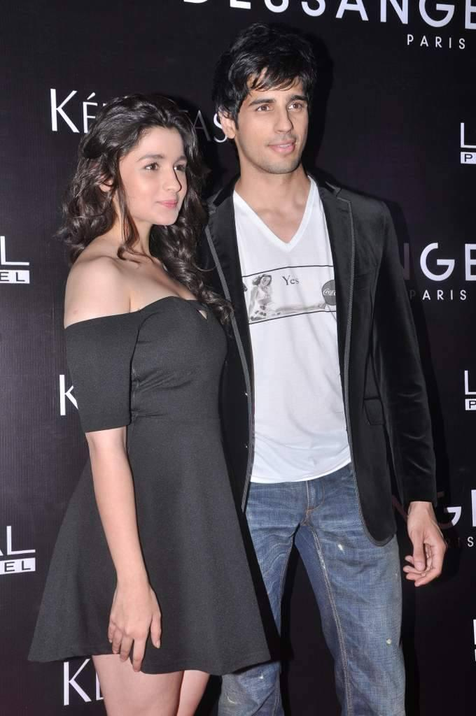 Alia And Sidharth Spotted At Dessange Salon And Spa Launch Event