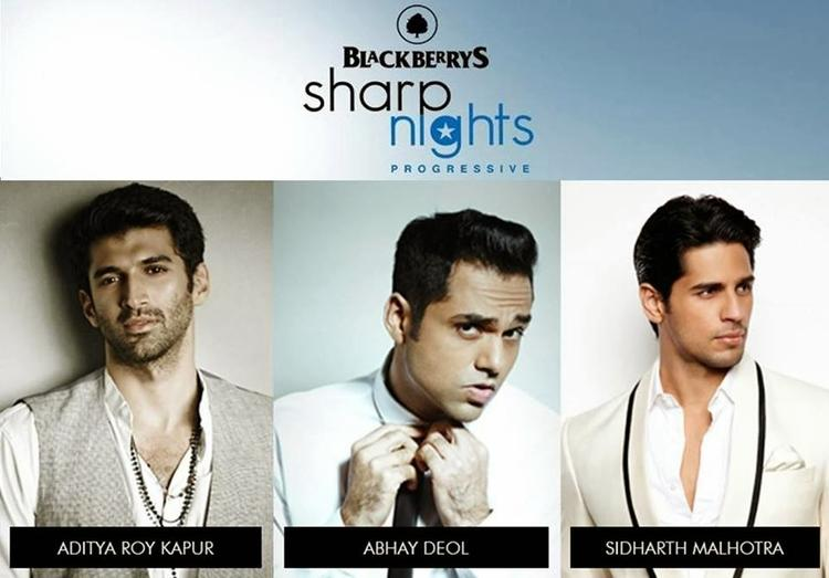 Aditya,Abhay And Sidharth Photo Shoot For Quirky Blackberrys Fall Winter Collection At Sharp Nights Progressive