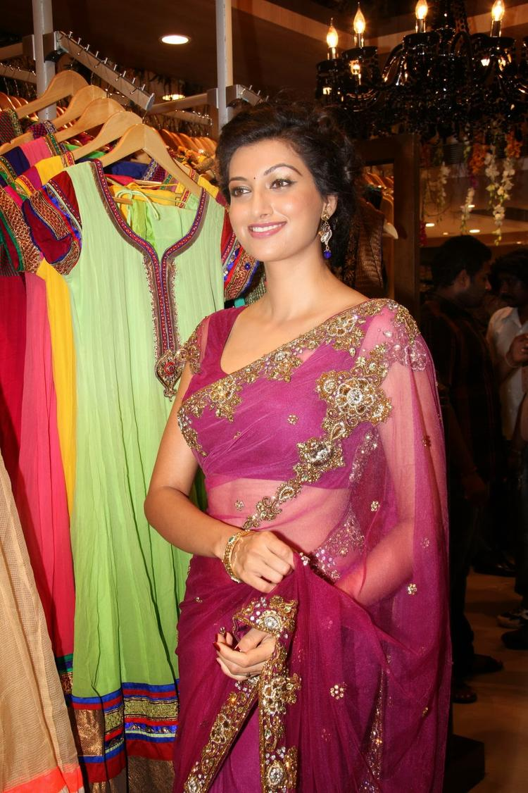 Hamsa Nandini Cool Look At Kalamandir Saree Store Showroom Launch Event