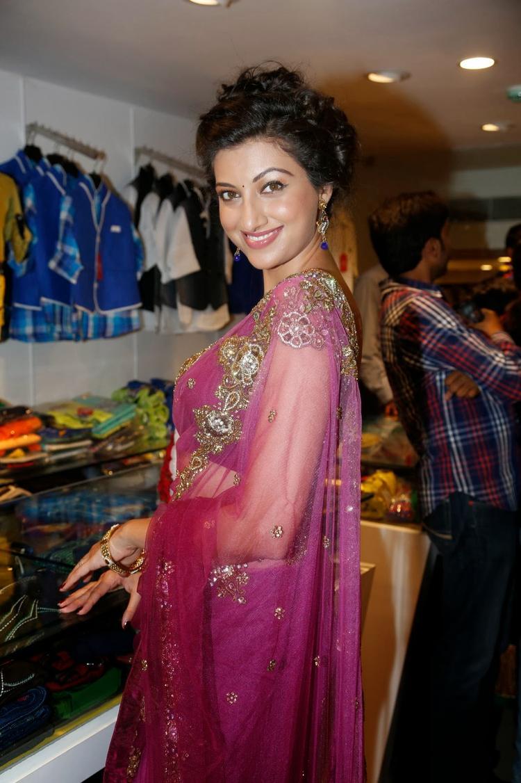 Hamsa Nandini Glamour Look At Kalamandir Saree Store Showroom Launch Event
