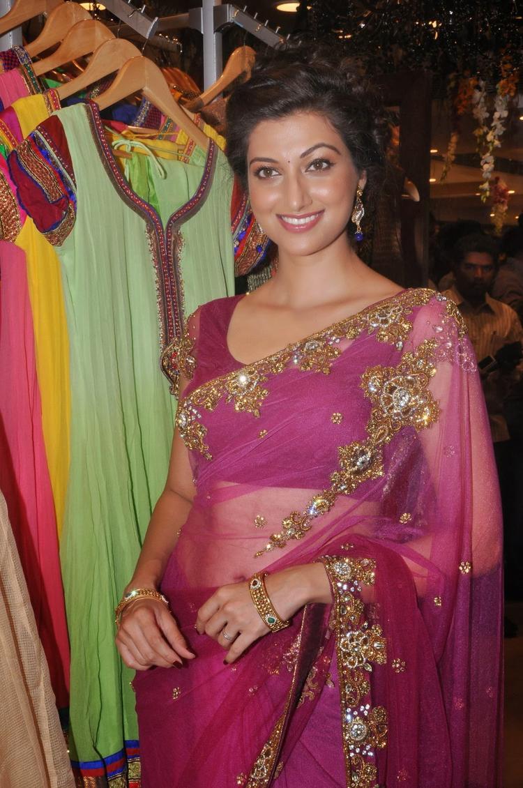 Hamsa Nandini Graced During The Launch Of Kalamandir Saree Showroom At Hyderabad