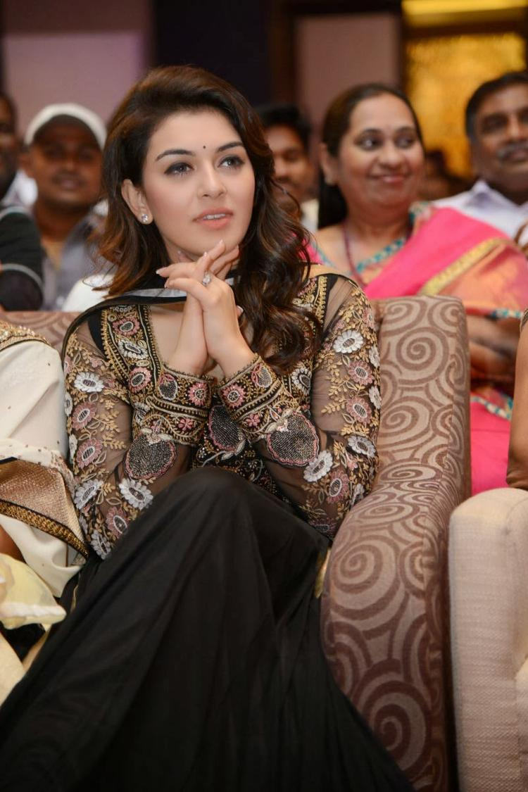 Hansika Motwani Cool Look At Doosukeltha Movie Audio Release Function