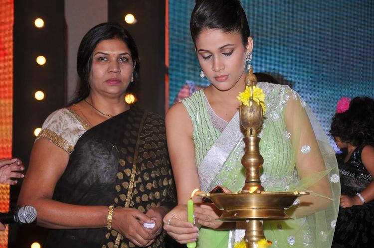 Lavanya Tripathi Lights The Candle At Doosukeltha Audio Launch Function