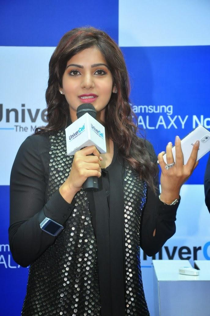 Samantha Addresses The Public At Samsung Galaxy Note III Launch Event