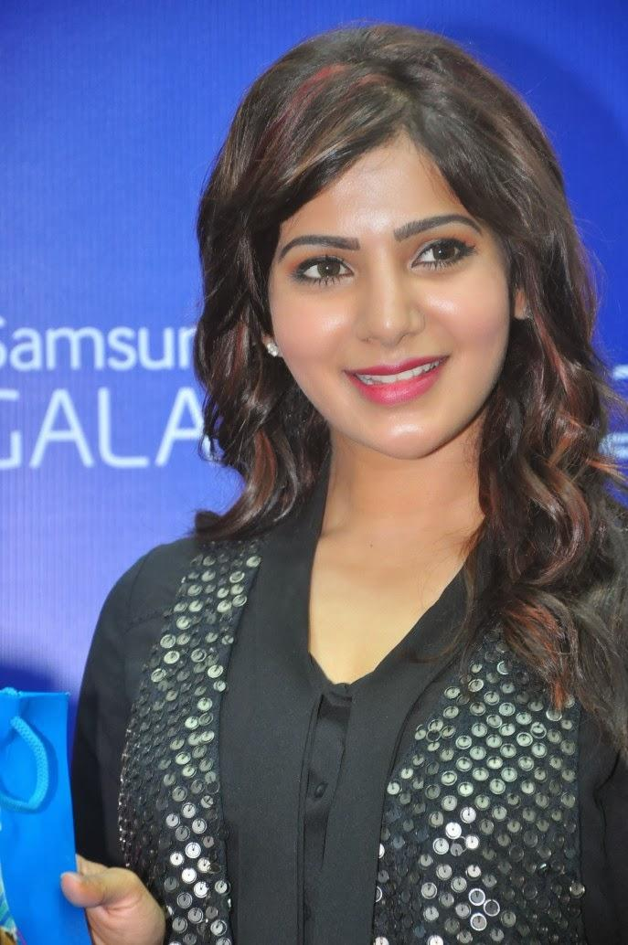 Samantha Dazzling Look At Samsung Galaxy Note III Launch Event