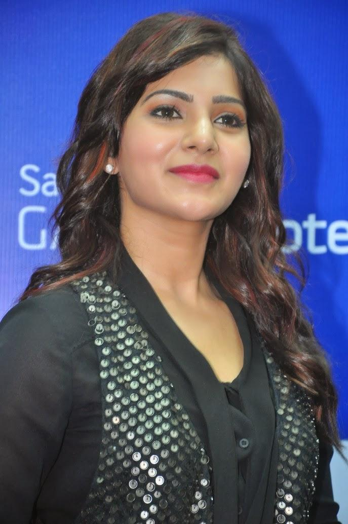 Samantha Glamour Look During The Launch Of Samsung Galaxy Note III At Chennai