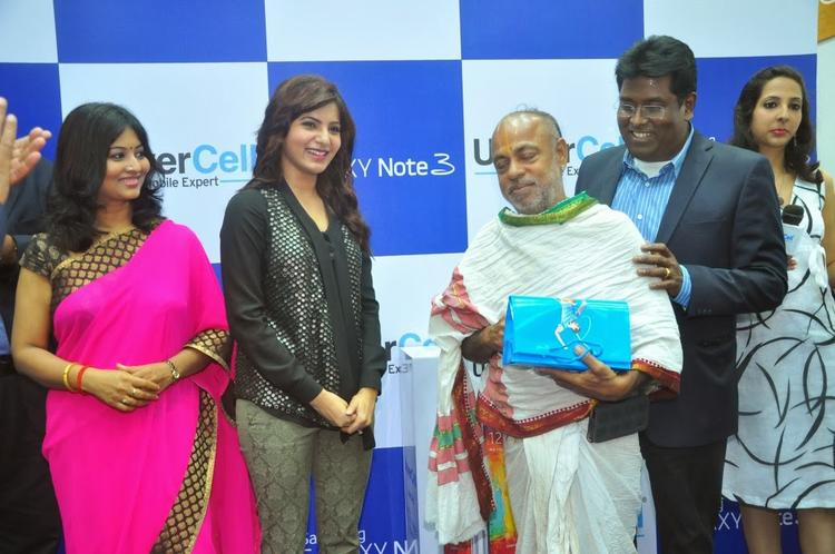 Samantha Launches Samsung Galaxy Note III Smartphone