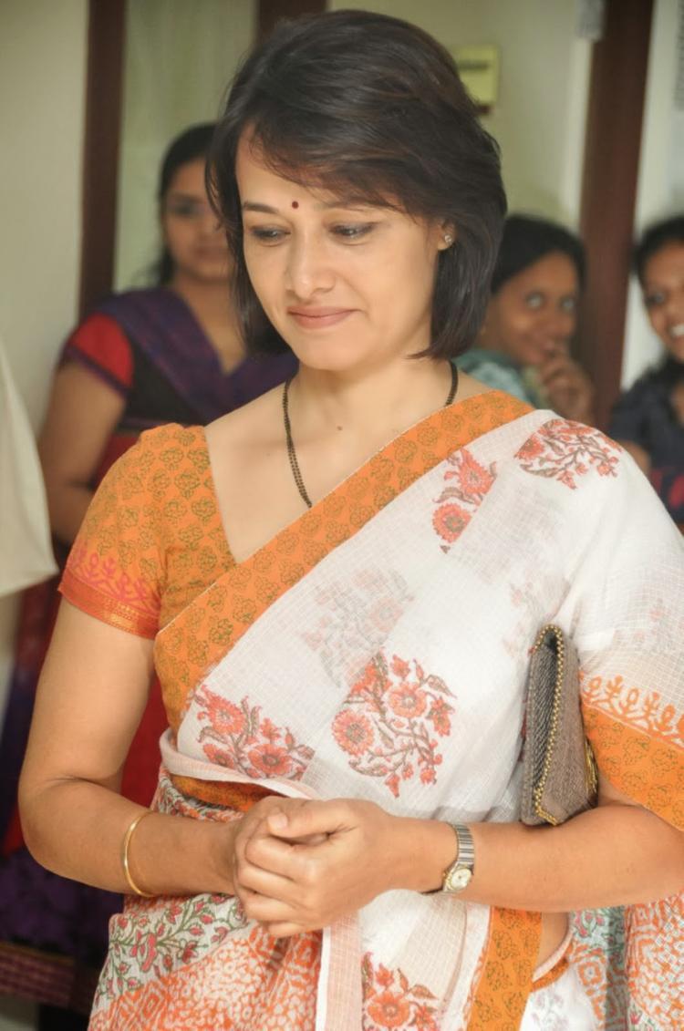 Amala Akkineni Nice Look During The Launch Of United Hospitals At Madhapur, Hyderabad