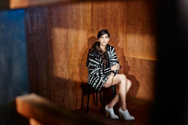 Sonam Kapoor Sizzling Look Shoot For The Business Of Fashion October 2013
