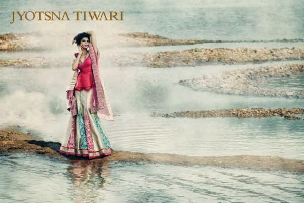 Jacqueline Fernandez Cool Nice Look Shoot For Jyotsna Tiwari Couture Collection 2013