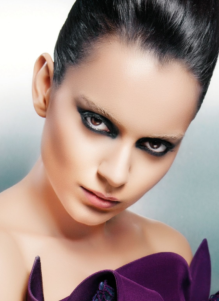 Kangna Hot Eyes Exclusive Look Photo Shoot For CineBlitz Magazine October 2013