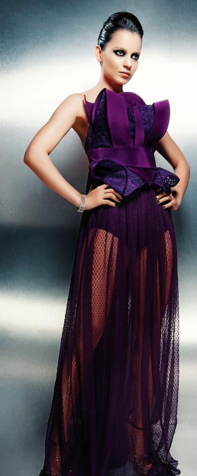 Kangna Ranaut Fashionable Look For CineBlitz Magazine October 2013
