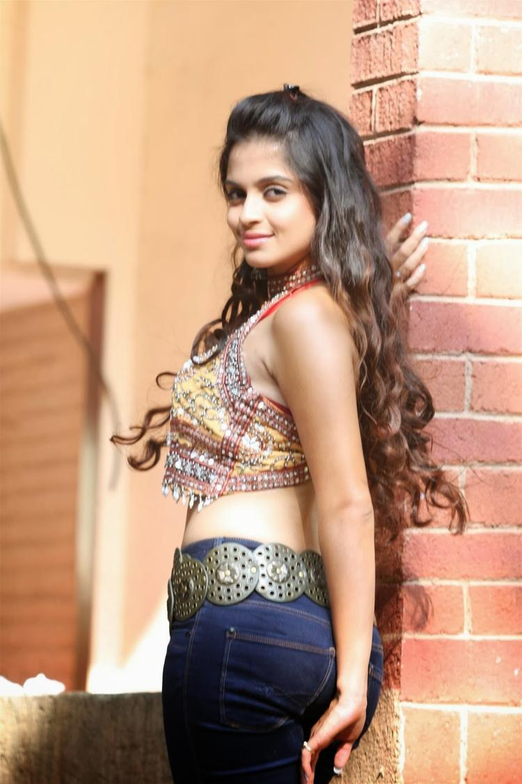 Sheena Shahabadi Hot Look For Navratri Special Photo Shoot Still