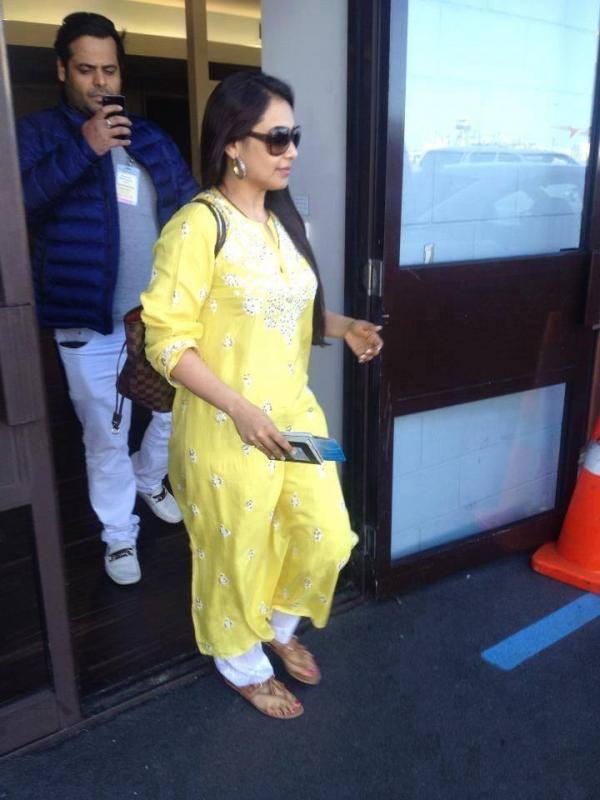 Rani Mukerji Spotted In Auckland For Temptation Reloaded Concert