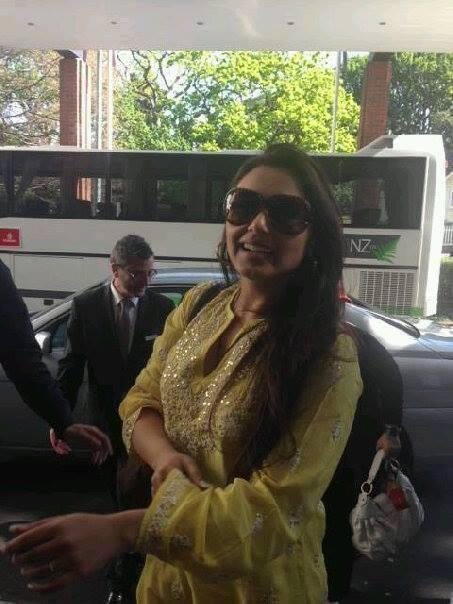 Rani Mukerji Stylish Look During The Rehearsing For Temptation Reloaded Concert In Auckland