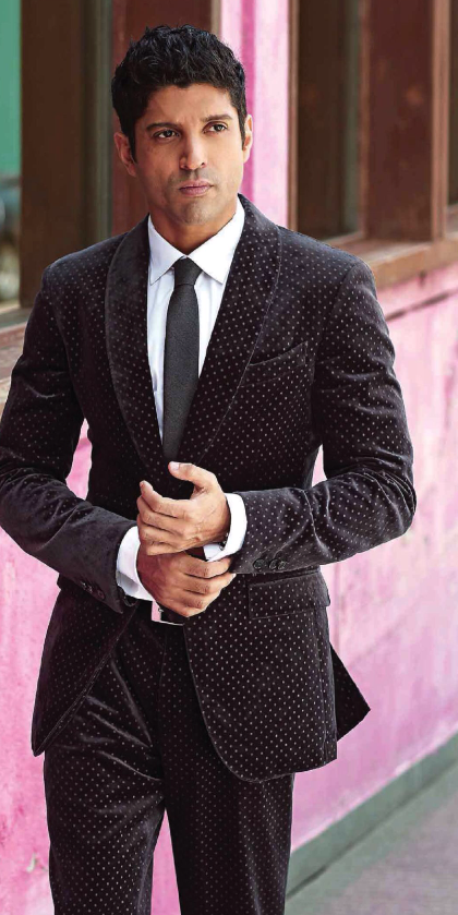 Farhan Akhtar Dappers Smart Look For Grazia Men October 2013 Issue