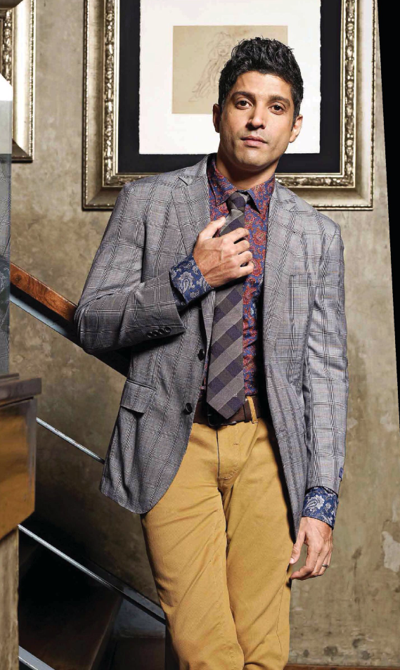 Farhan Akhtar Glamour Look Photo Shoot For Grazia Men October 2013 Issue