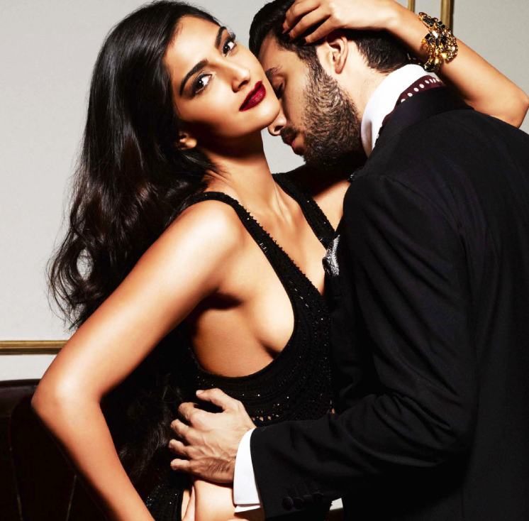 Sonam Kapoor Hot Sizzling Look Photo Shoot For GQ Magazine October 2013 Issue