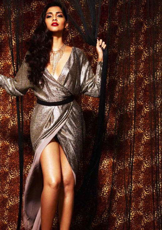 Sonam Kapoor Sexy And Hot Look For GQ Magazine October 2013 Issue