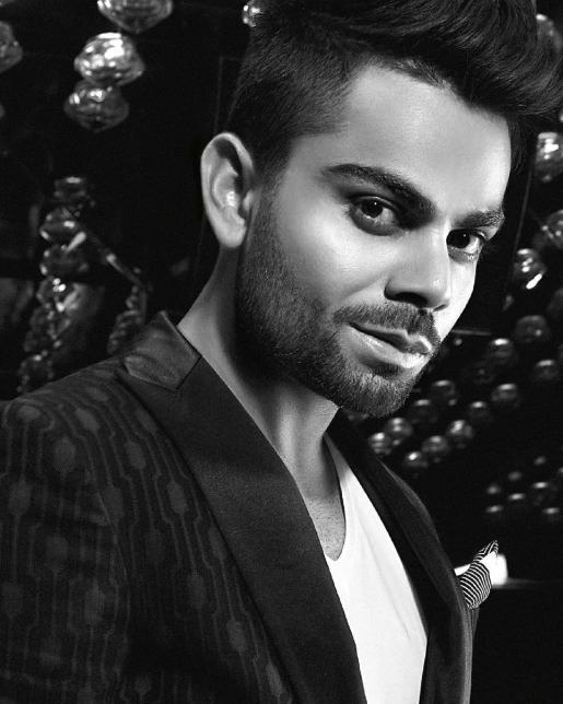 Virat Kohli Cute Smiling Look Shoot For GQ's Special Men Of The Year Awards 2013 Issue