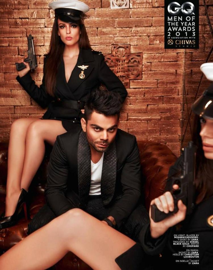 Virat Kohli Hot Look Pose For GQ's Special Men Of The Year Awards 2013 Issue