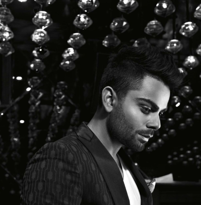 Virat Kohli Nice Look For GQ's Special Men Of The Year Awards 2013 Issue