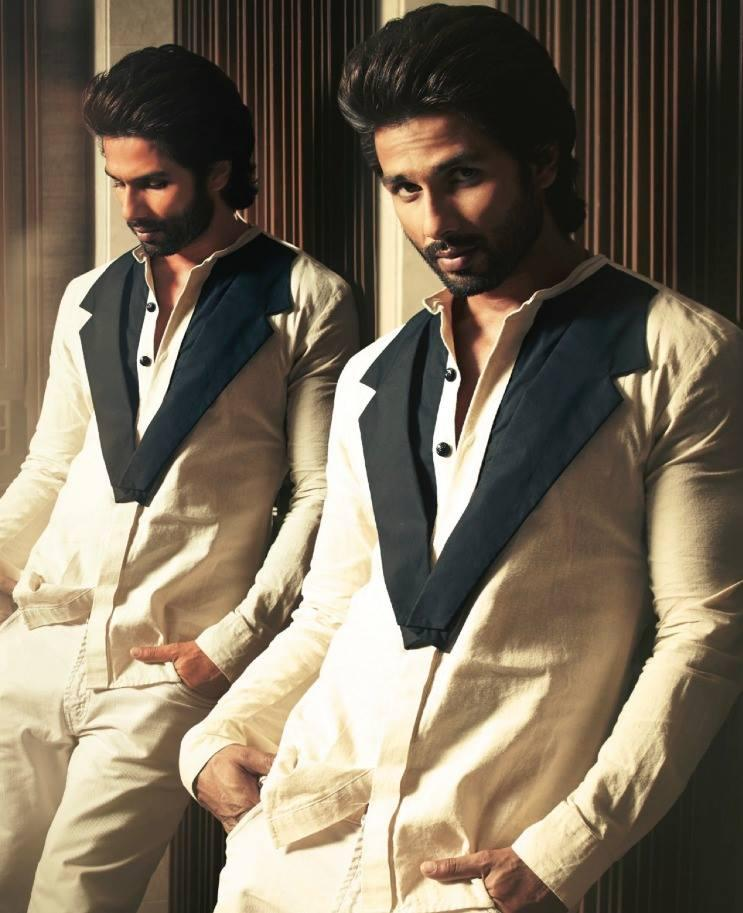 Shahid Kapoor Hot Eyes Look For Hello! India Magazine October 2013 Issue